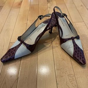 Amalfi pointy toe low heel size 6